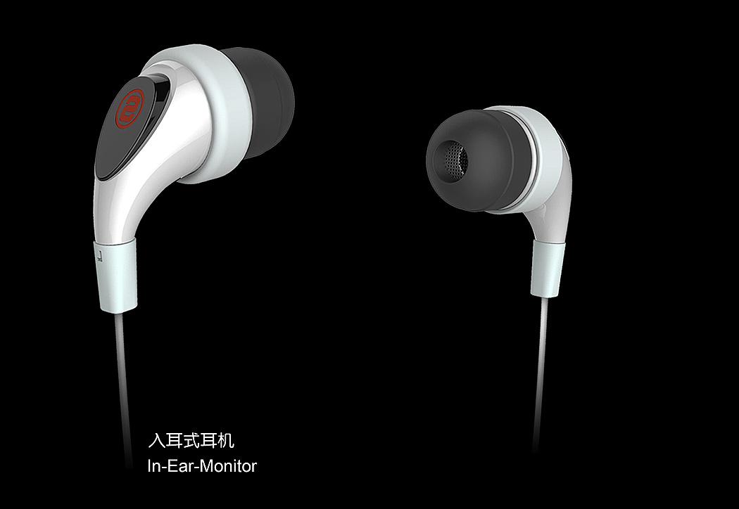 入耳式充气耳机设计
