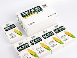 """中国甜糯玉米研创品牌""""玉道""""标志、包装设计"""