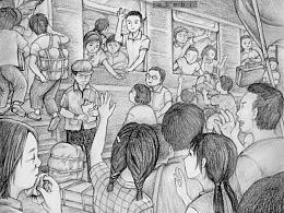 秦文君《沸腾的梦》插图