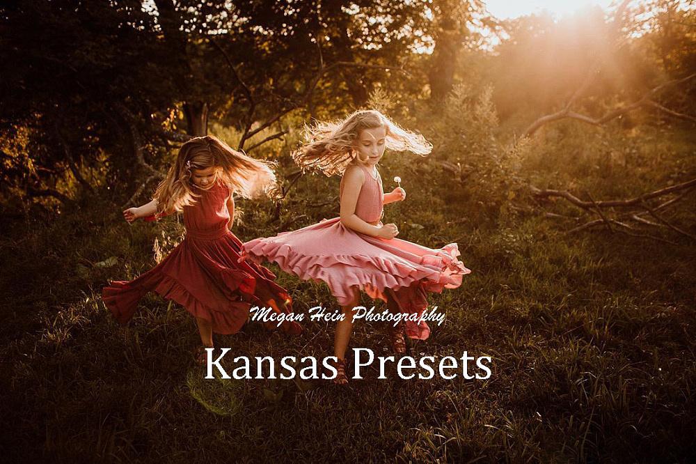【P347】摄影师Megan Hein梦幻光线的魔力Lightroom预设Megan Hein Kansas Presets
