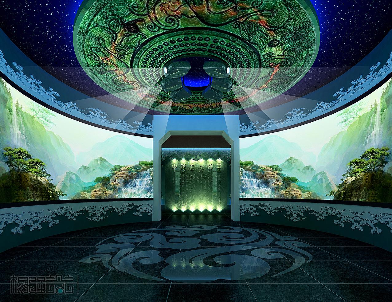 玉石国际展馆设计图片