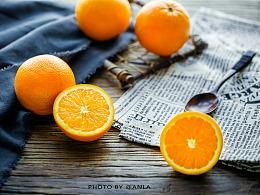 你是怎样的小橙子系列一   高冷抑郁的?   水果摄影