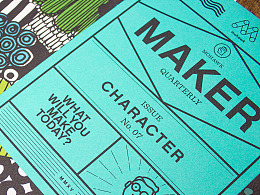Mohawk Maker Quarterly Issue #7: Character