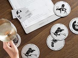 【HOHO TEA·好好找茶】核桃VI品牌形象设计