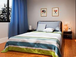 Blender室内卧室图渲染建模