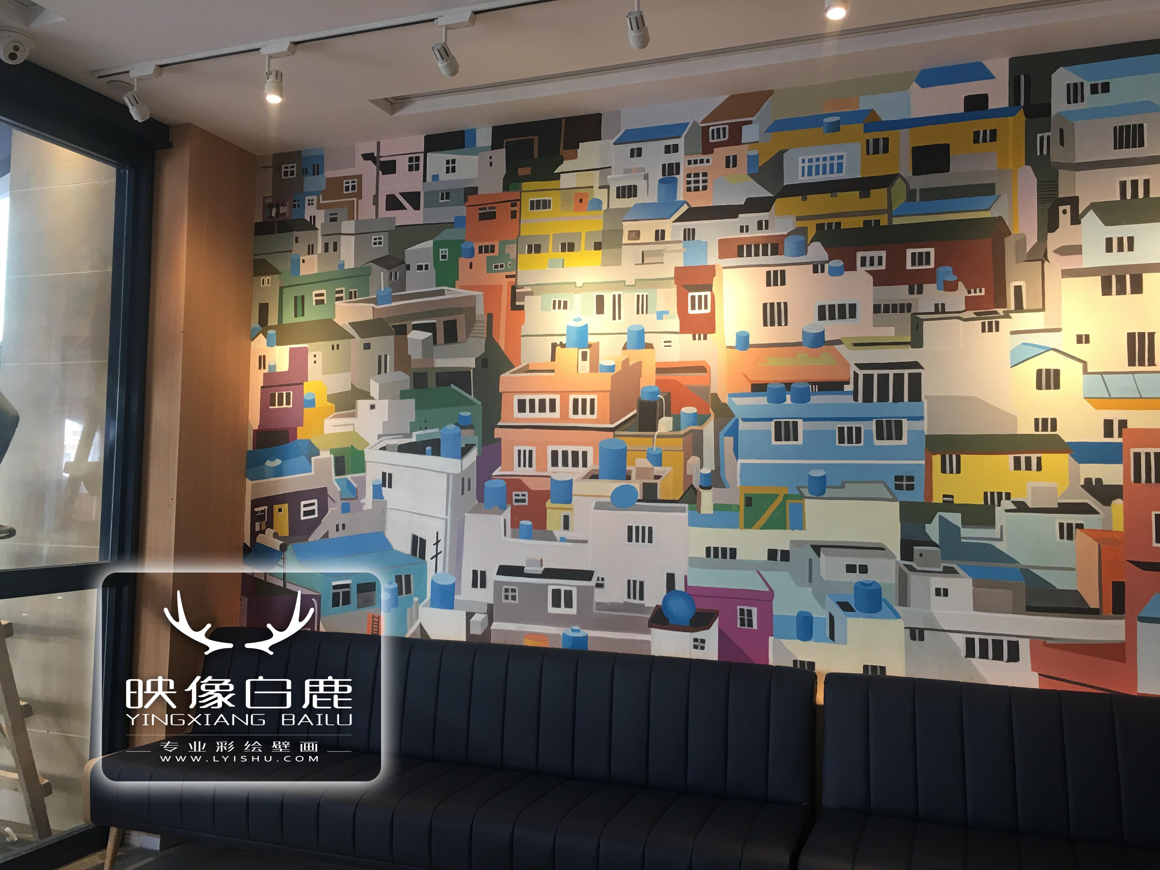 墙体彩绘,绘画,餐厅手绘,上海墙体彩绘,墙体彩绘素材