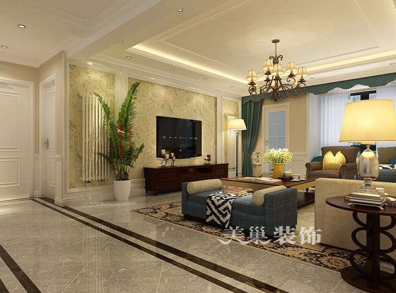 英地金台元素163平方四室两厅装修设计效果图v元素窗帘府邸图片