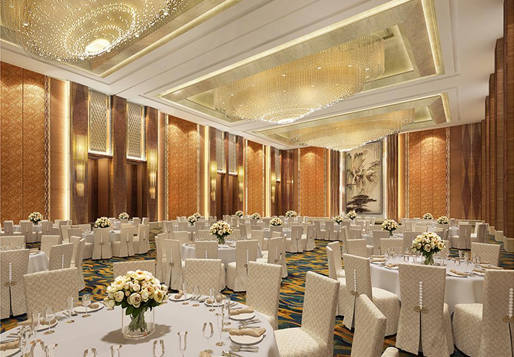 万豪酒店(渭南星级酒店设计公司)丨红专设计