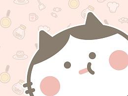 超萌猫咪Norma卡通形象设计