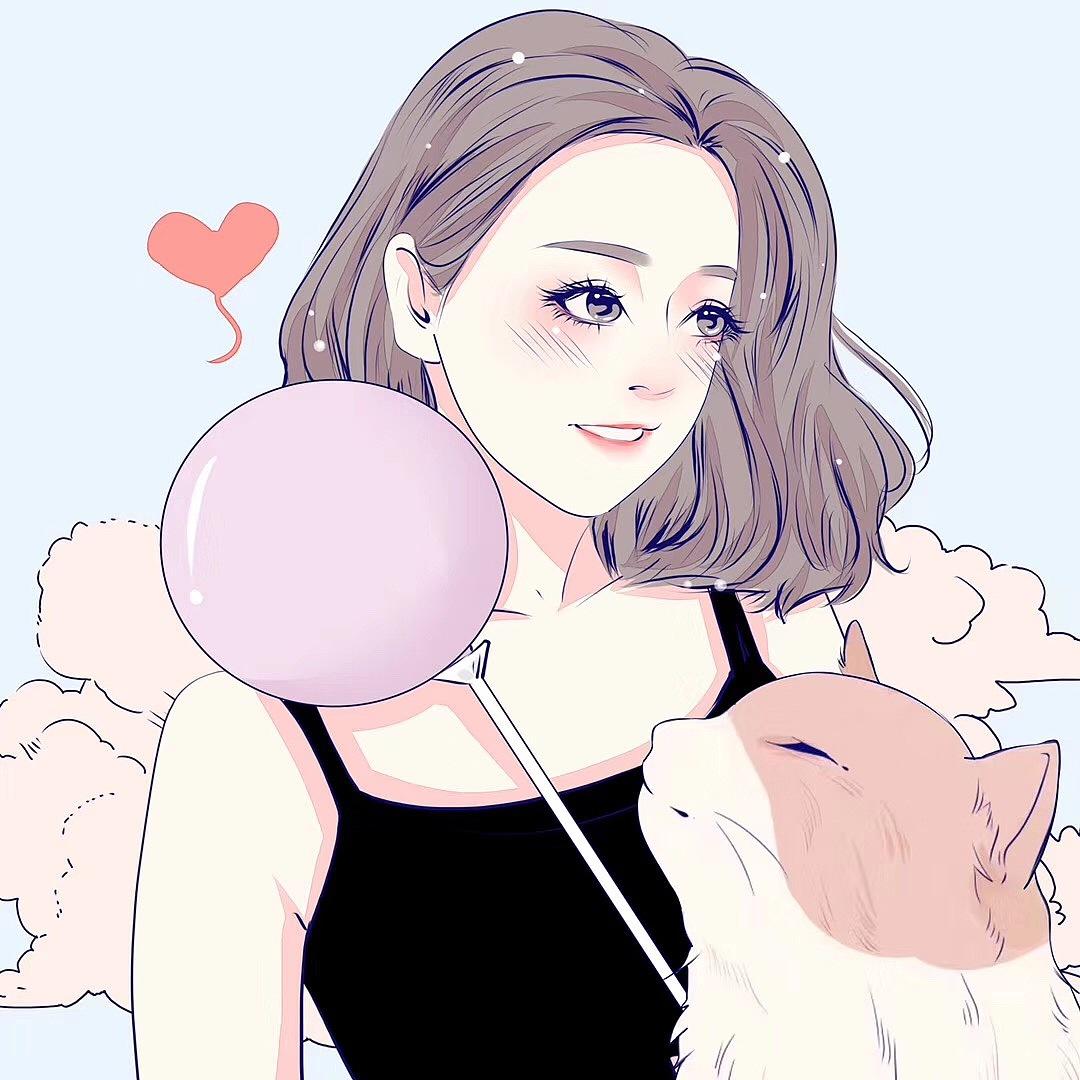 七月 孩子 肖像漫画 熊动漫手绘馆YJ-原创作品冰漫画图片图片