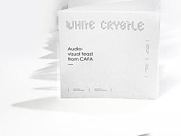 白色水晶 展览册设计