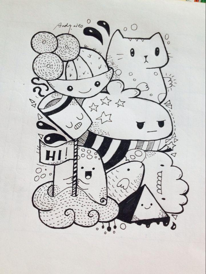 手绘涂鸦#100天行动