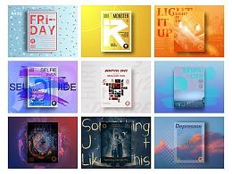 音乐海报|海报设计|版式设计