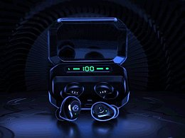 P10耳机产品视觉动画
