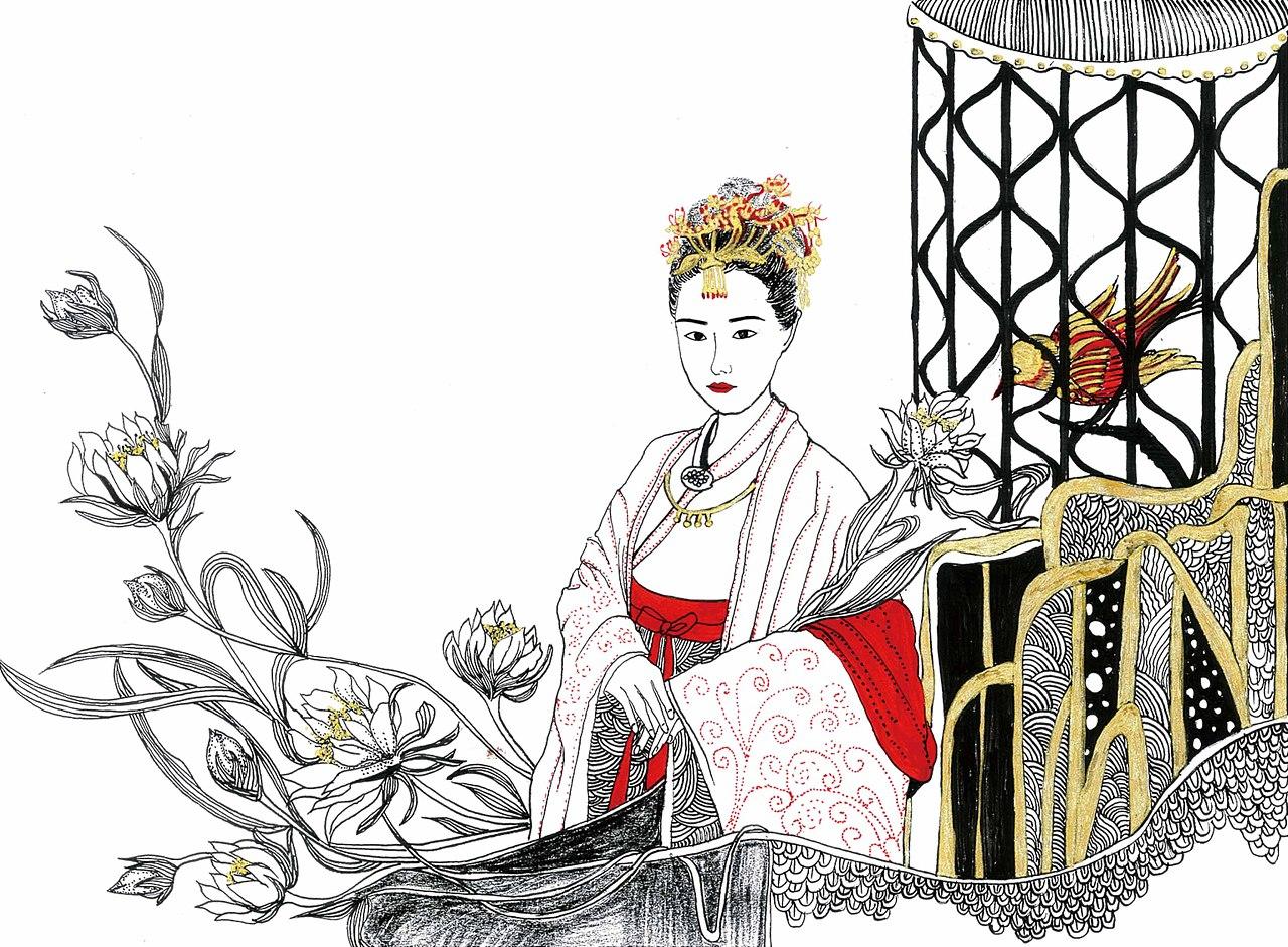 《红楼梦》金陵十二钗人物插画
