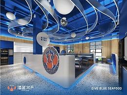 潜蓝水产—海鲜餐饮连锁品牌全案策划