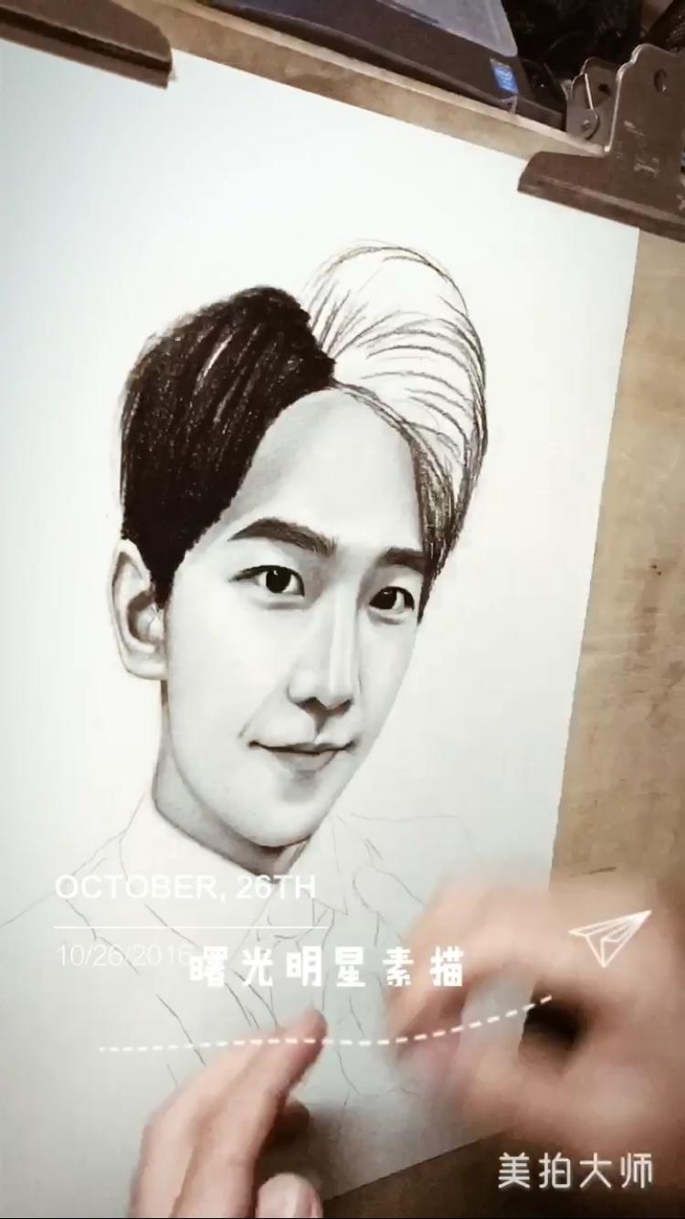 杨洋素描画像