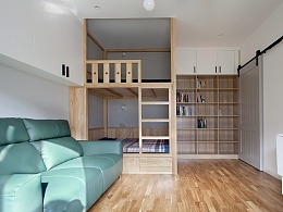 40m²小户型整容改造术,利用房高+C位拯救空间浪费