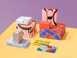 卡片包装纸设计图案设计