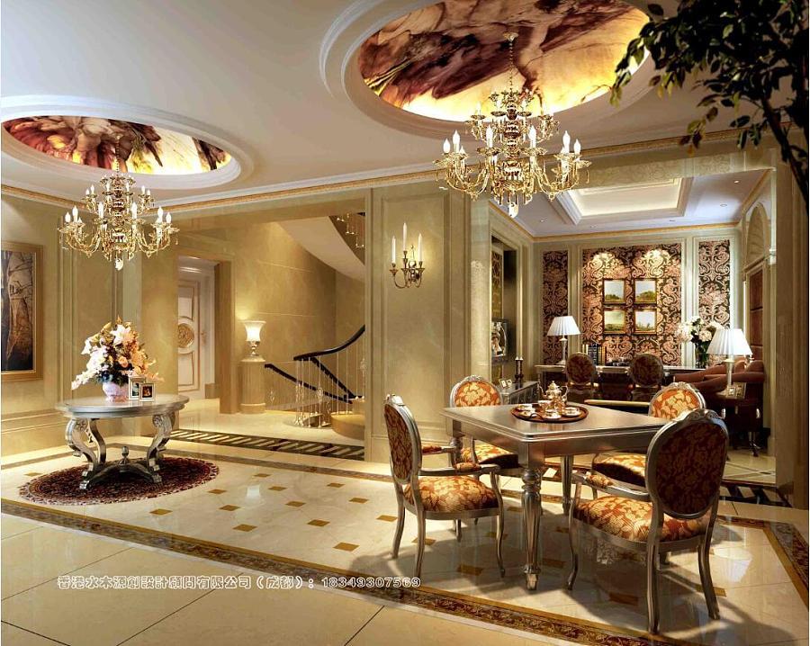 陈案例先生装修设计别墅v案例|室内设计|新加坡园林设计找工作图片