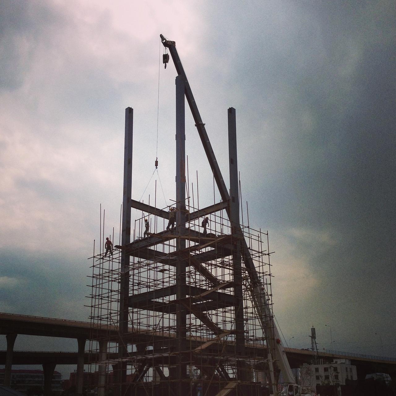 一钢结构吊装