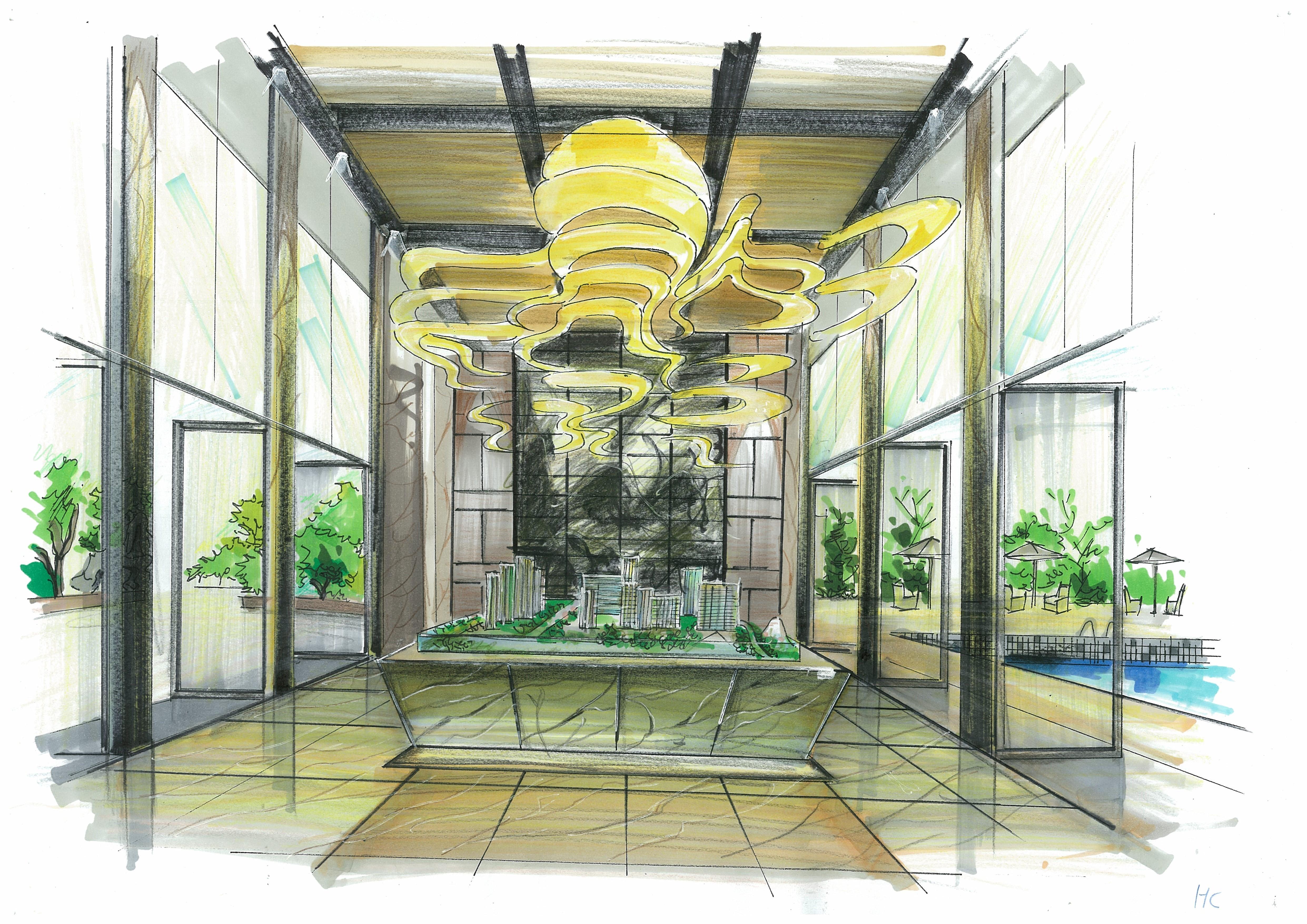 室内手绘表现 空间 室内设计 huocheng224 - 原创作品