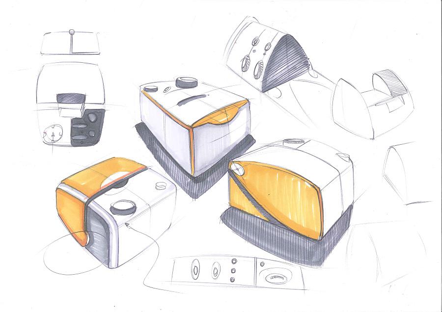 产品手绘草图|生活用品|工业/产品|遥子遥子
