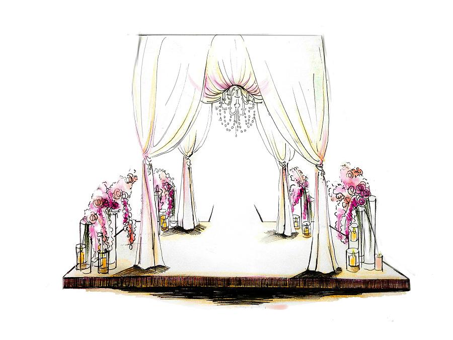 手绘婚礼|彩铅|纯艺术|vampire1993