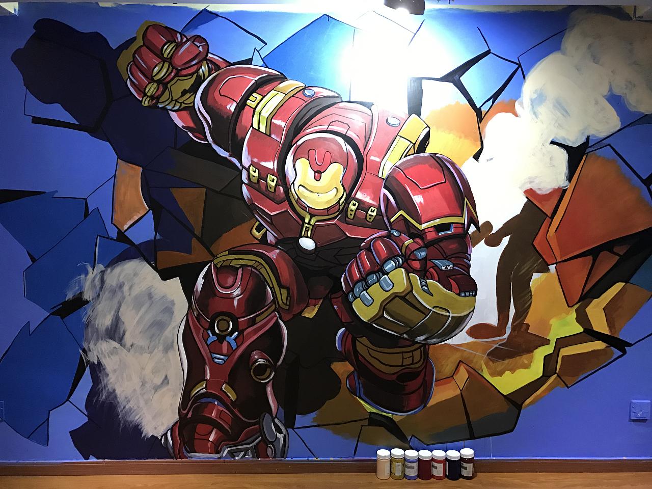 【3d加强版变形金刚】|其他|墙绘/立体画|绘汉zf