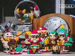 scblock 微积木 圣诞海贼王系列