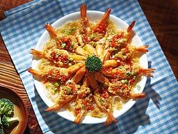 年夜饭 花开富贵虾 | 美食短片 味蕾时光