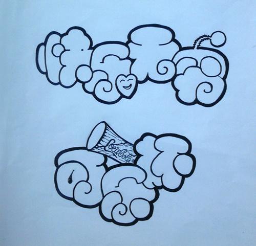 儿童画 简笔画 手绘 线稿 500_481