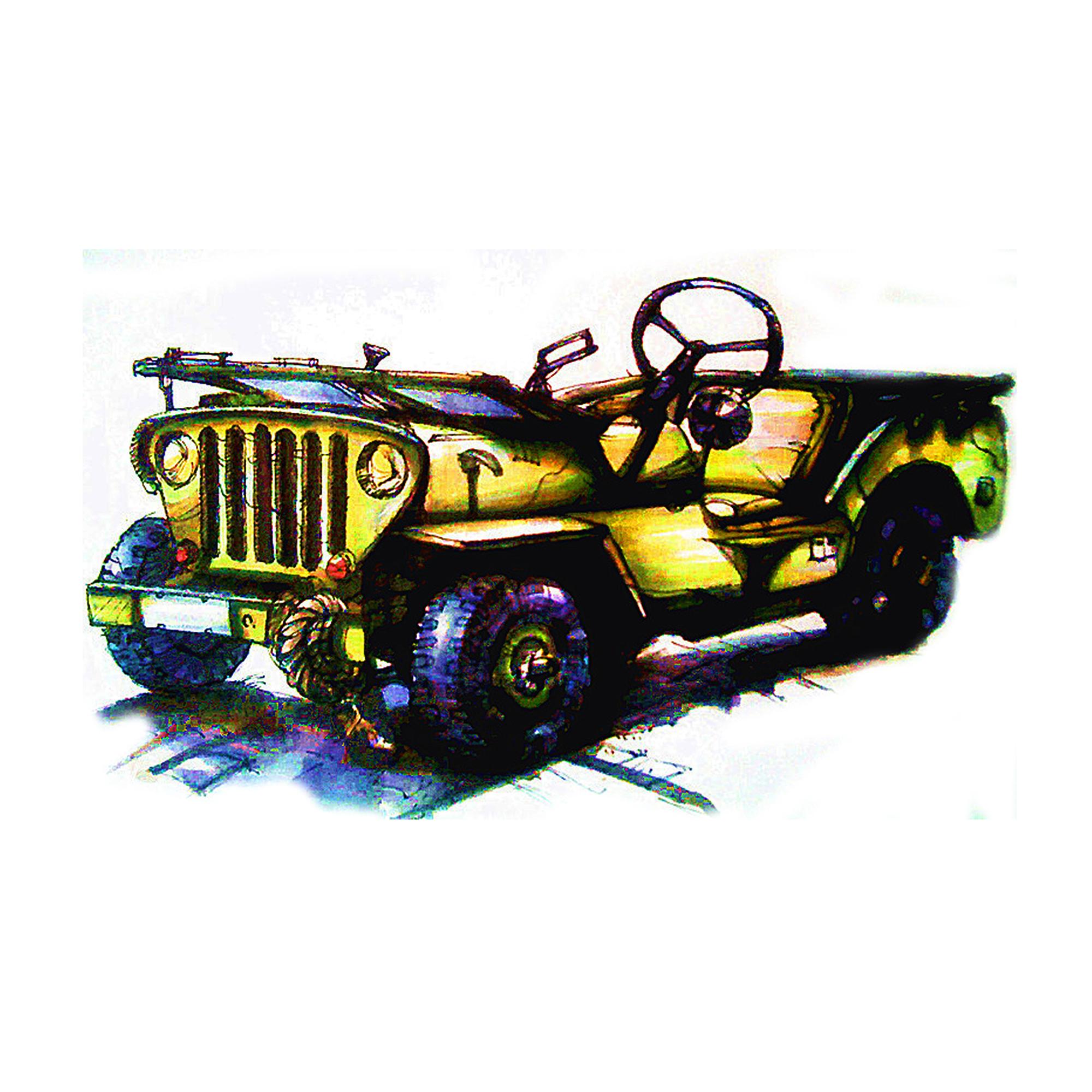 马克笔手绘汽车