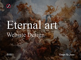 Eternal art Website Design
