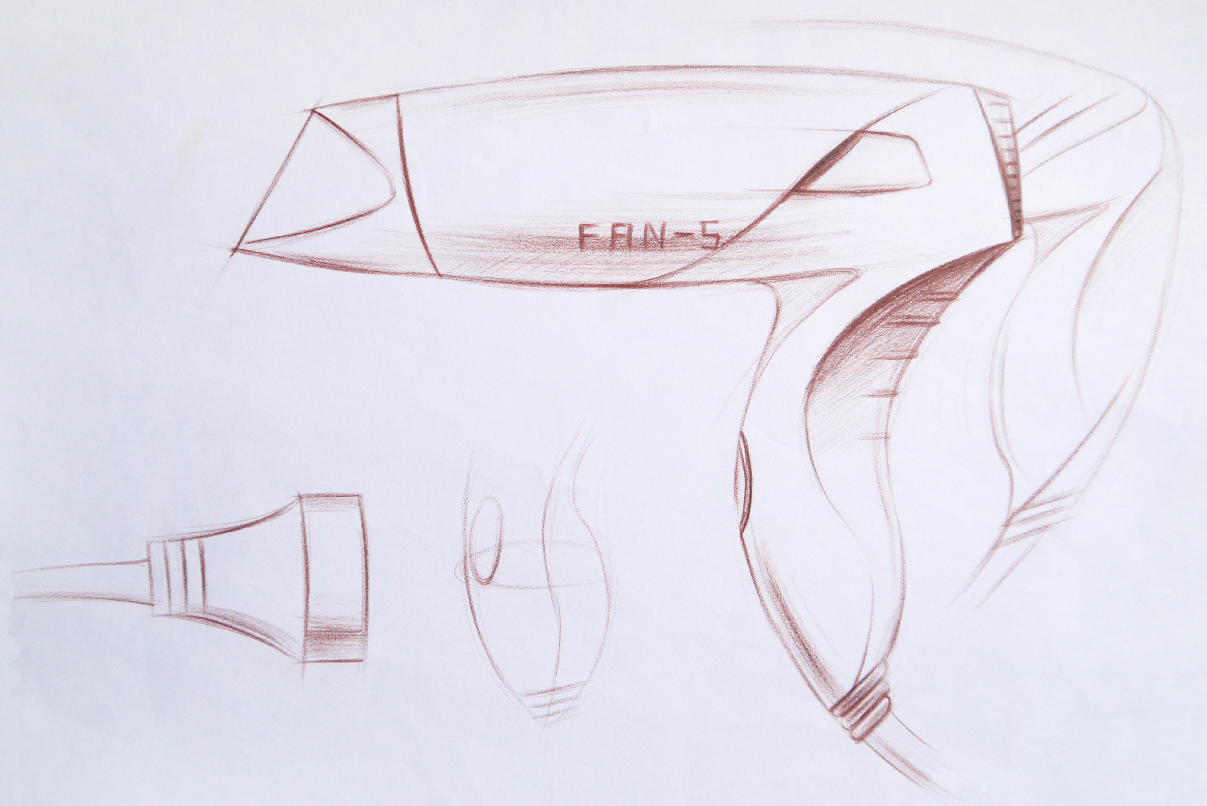 【设计手绘】彩铅手绘效果图|工业/产品|电子产品