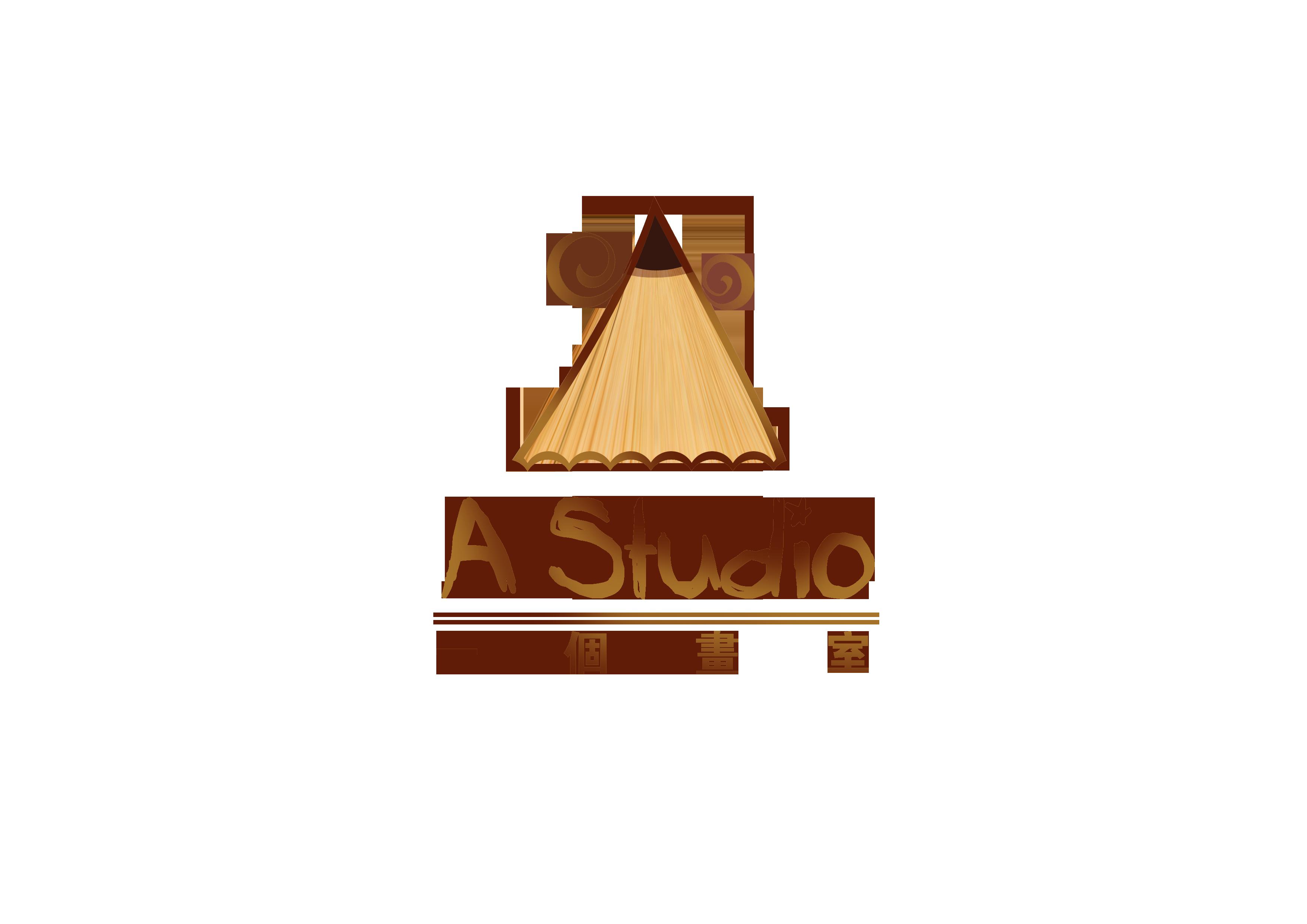 一个画室logo设计图片