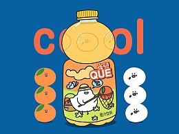 #豆豉雀插画# 夏日凉饮cool
