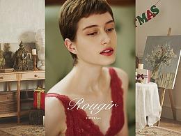 《ROUGIR》——弗利少女(FREELASS)品牌内衣拍摄