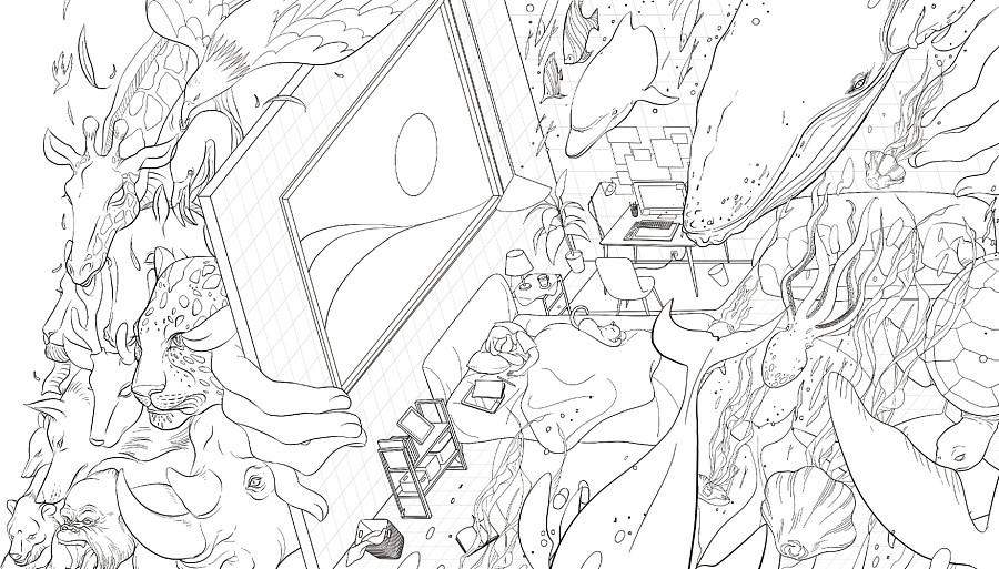 查看《倾斜的梦与房间》原图,原图尺寸:1756x1000