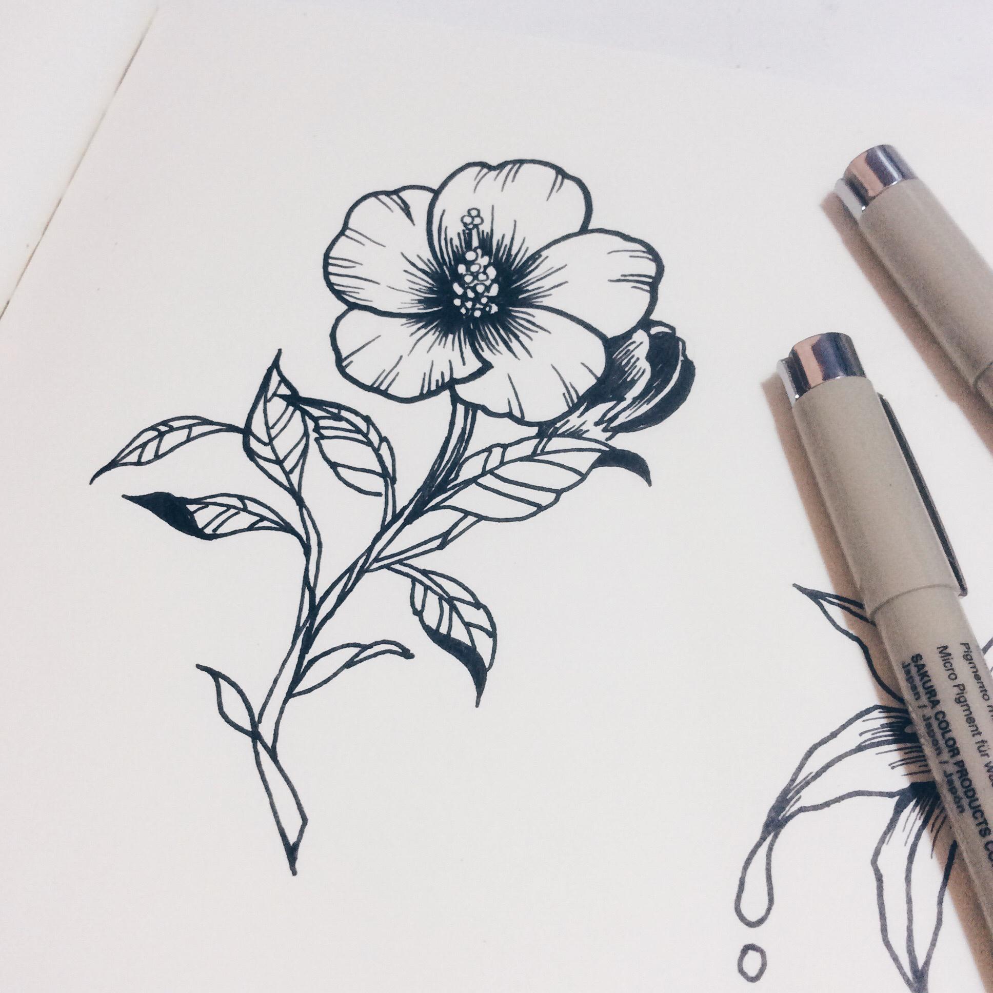 老徐的纹身手稿-黑白|插画|涂鸦/潮流|兔子老徐图片