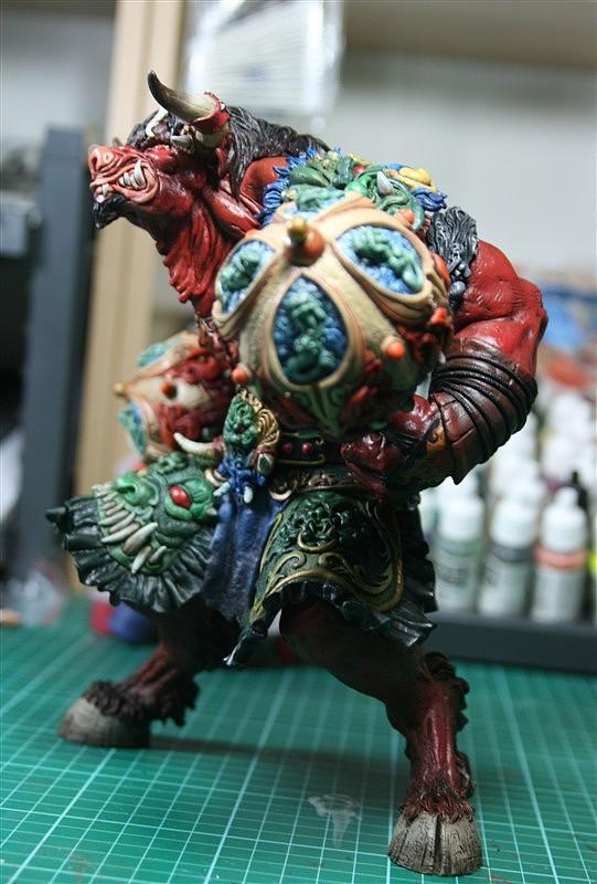 我的作品 西游记之牛魔王 你会喜欢吗? 纯艺术 雕塑 PG比奇 - 原创作品 - 站酷 (ZCOOL)