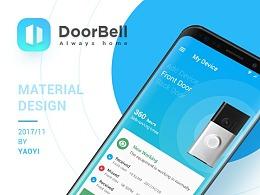 Doorbell APP Material Design