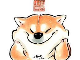 柴犬枸杞 冬日节庆篇