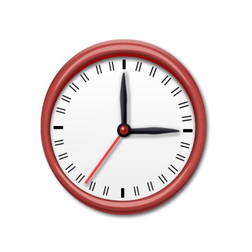 logo 标识 标志 设计 时钟