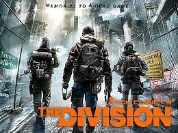 Tom clancy's The Division全境封锁网页设计分享