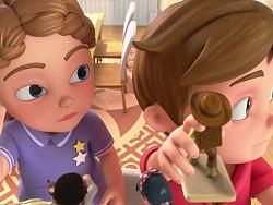 境外儿童教育动画片设计稿