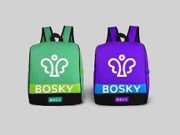 BOSKY 啵西贝贝早教品牌设计