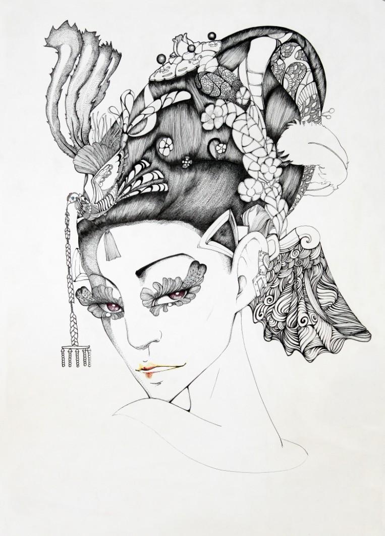 查看《JAMU時尚插畫之十二生肖合集》原图,原图尺寸:763x1061
