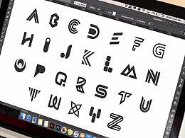 现代英文字母LOGO标志的类型-单个字母