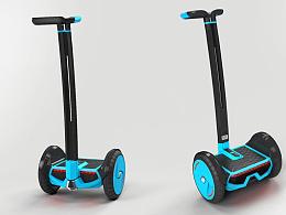 双轮平衡思维车
